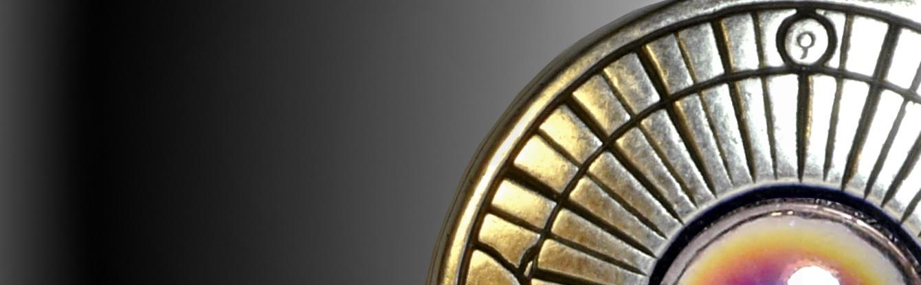 Colgantes Reloj de Sol en joyeria creativa con lacado en plata